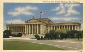 State Capitol Building - Oklahoma City OK, Oklahoma - Linen
