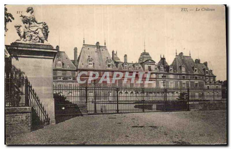 Old Postcard In The Castle