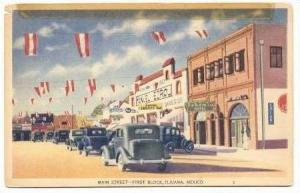 First Block, Main Street, Tijuana, Mexico, 20-30s
