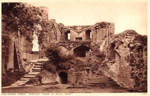 United Kingdom, Great Britain, England Kenilworth Castle Mervyn's Tower and A...