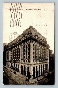 Cincinnati OH-Ohio, Hotel Sinton, Vintage c1908 Postcard