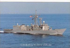 U S S RODNEY M DAVIS FFG-60