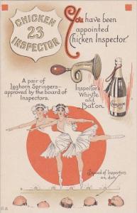 Humour Chicken Inspector 23