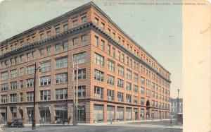Grand Rapids Michigan~Furniture Exhibition Building~1912 Postcard