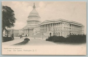 Washington DC~The State Capitol Building~c1905 Postcard