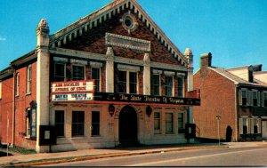 Virginia Abingdon Barter Theatre
