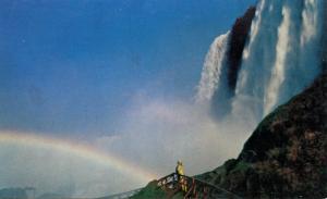 NY - Niagara Falls.   Rainbow