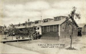 VA - Camp Lee. YMCA Building #81 (Military)
