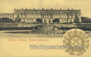 Schloss Herrenchienmsee Konigl Germany Unused