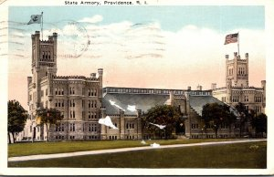 Rhode Island Providence State Armory 1922