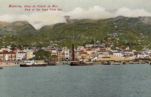 MADEIRA, Portugal, 1900-10s; Waterfront