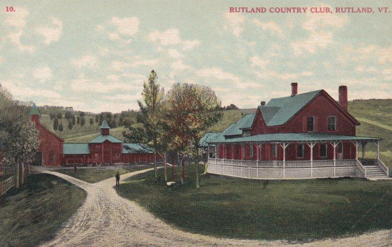 RUTLAND, Vermont, 1900-1910's; Rutland Country Club