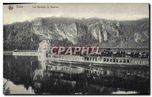Postcard Old Boat Dave Rocks of Neuviau