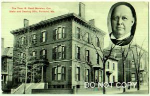 Thos B Mansion, State & Deering Sts, Portland, Me