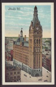 City Hall,Milwaukee,WI Postcard