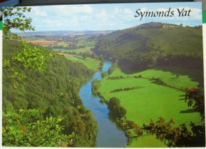 England Symonds Yat River Wye - unposted