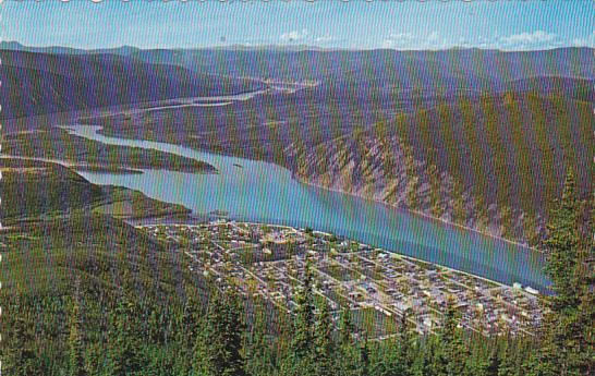 Canada Yukon Dawson City Historic Centre Of Gold Rush Of 1898