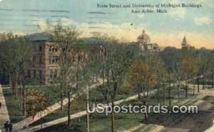 State Street, University of Michigan Ann Arbor MI 1913
