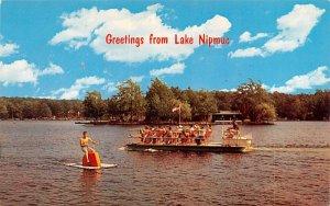 Greetings from Lake Nipmuc Mendon, Massachusetts Postcard