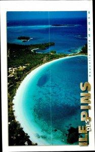 CE0849 new caledonia isle des pins kuto bay shore pacific ocean