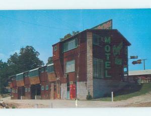 Pre-1980 MOTEL SCENE Forsyth - Near Branson Missouri MO G7678