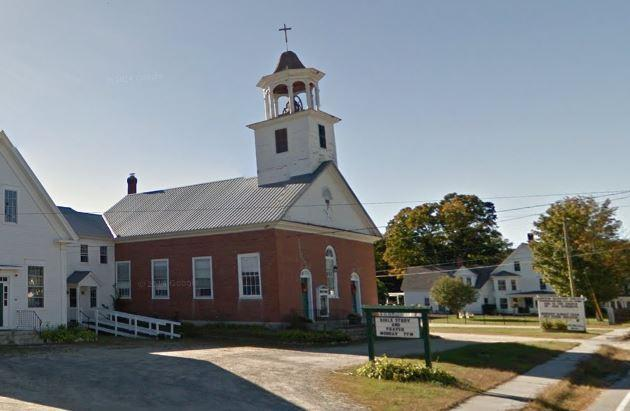 Campton NH Baptist Church & 1/2 the Parsonage~You Helped Me in Singing