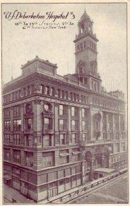 NEW YORK CITY, NY U.S. DEBARKATION HOSPITAL #3