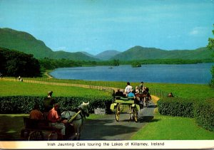 Ireland Co Kerry Irish Jaunting Cars Touring The Lakes Of Killarney 1971