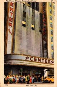 New York City Rockefeller Center The Center Theatre