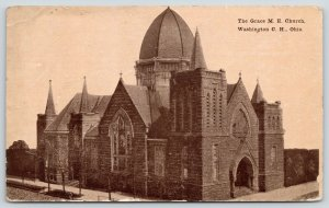 Washington Court House OH~Methodist Episcopal~Juicer Dome 1912~Burned Down 1959