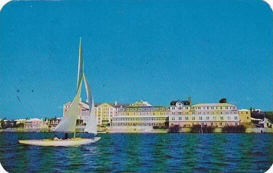 Bermuda Hamilton Princess Hotel 1960