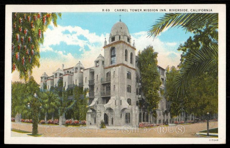Carmel Tower, Mission Inn, Riverside