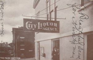 RP: BURNHAM , Maine, 1907 ; City Liquor Agency