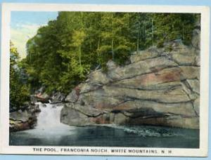 NH - Franconia Notch, The Pool - Miniature Card