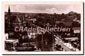 Old Postcard Le Touquet Paris Plage view Gnrale
