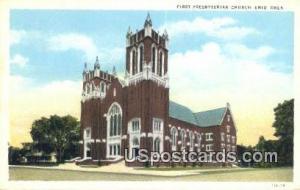 First Presbyterian Church Enid OH Unused