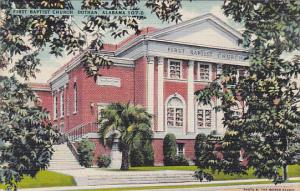 Alabama Dothan First Baptist Church