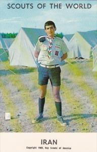 Boy Scouts Of The World In Uniform Iran