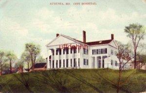 AUGUSTA, ME CITY HOSPITAL 1909