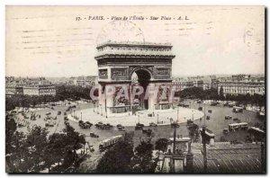 Paris - 8 - Place de l & # 39Etoile - Old Postcard