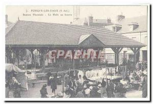COPYRIGHT FORGIS waters Postcard Old Spa The hall butter