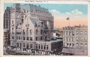Post Office, Newark, New Jersey, PU-1924