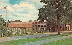 Elsah Illinois Cox School of Gov't Bldg Angie Cox Auditorium vintage pc Z43412