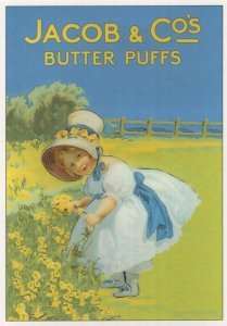 Jacob & Co Butter Puffs Poster Advertising Postcard