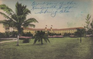 SEBRING, Florida, 1900-1910s; Kenilworth Lodge, Route Fla. 17
