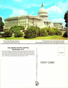 The United States Capitol, Washington D. C.