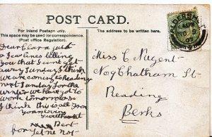 Genealogy Postcard - Family History - Nugent - Reading - Berkshire    V930