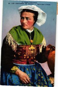 CPA La Savoie Pitt. Les Costumes de Savoie - St-JEAN d'ARVES (252410)