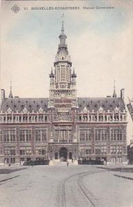 Belgium Brussells Bruxelles Schaerbeek Maison Communale