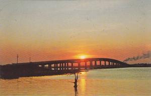 Sunset View, New Winyah Bay Bridges, Waccamaw, Pee Dee, Black Rivers, Georget...
